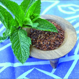 Green Rooibos Loose Tea with Mint (200g)